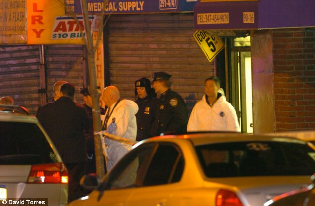 Scene: Garcia's uncle came across the bodies at their Queens, New York home on Sunday night