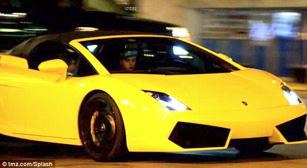 Slow down!: The Heartbreaker singer driving with model Chantel Jeffries the night of the arrest