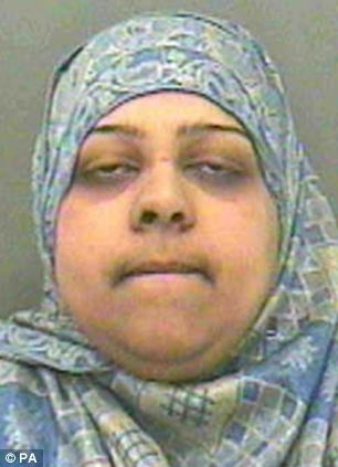 Atfah Ditta, one of the women who attacked Miss Harrison got five years four months