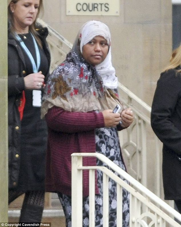 Lena's mother Selina Begum, pictured above, tried calling her daughter 16 times in the hours before she died