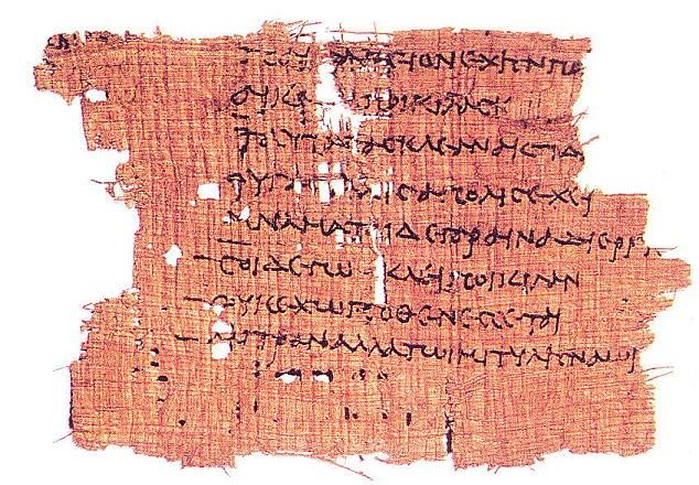 Sapfo papyrus
