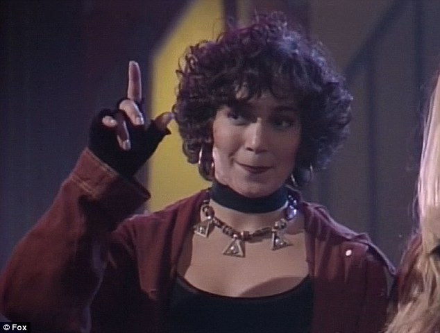 Fly girl: Jennifer Lopez was shown on In Living Color in the early 1990s