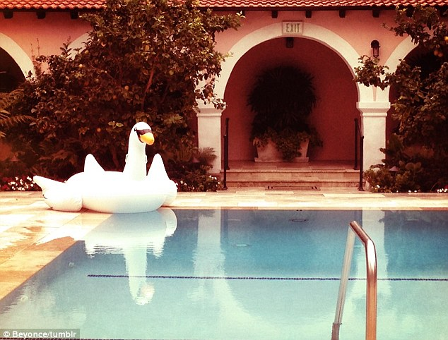 Lady Jane: Blue has also spent time in hotels across the world accompanying her parents Beyonce and Jay on tour