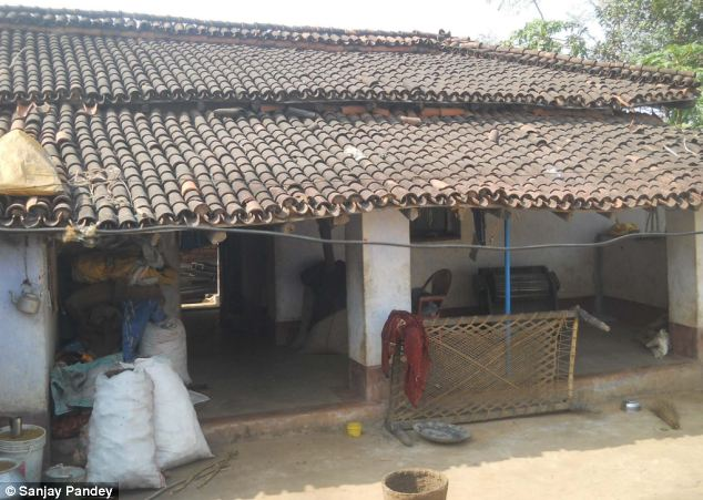 Masat allegedly set Devi alight in the courtyard of this house, before allegedly placing her still-living body next to a fireplace to make it look like an accident