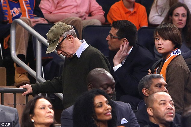 Image result for woody allen  madison square garden gifs