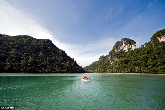 Natural appeal: Malaysia's 'strikingly beautiful' Langkawi archipelago proves a draw for UK tourists