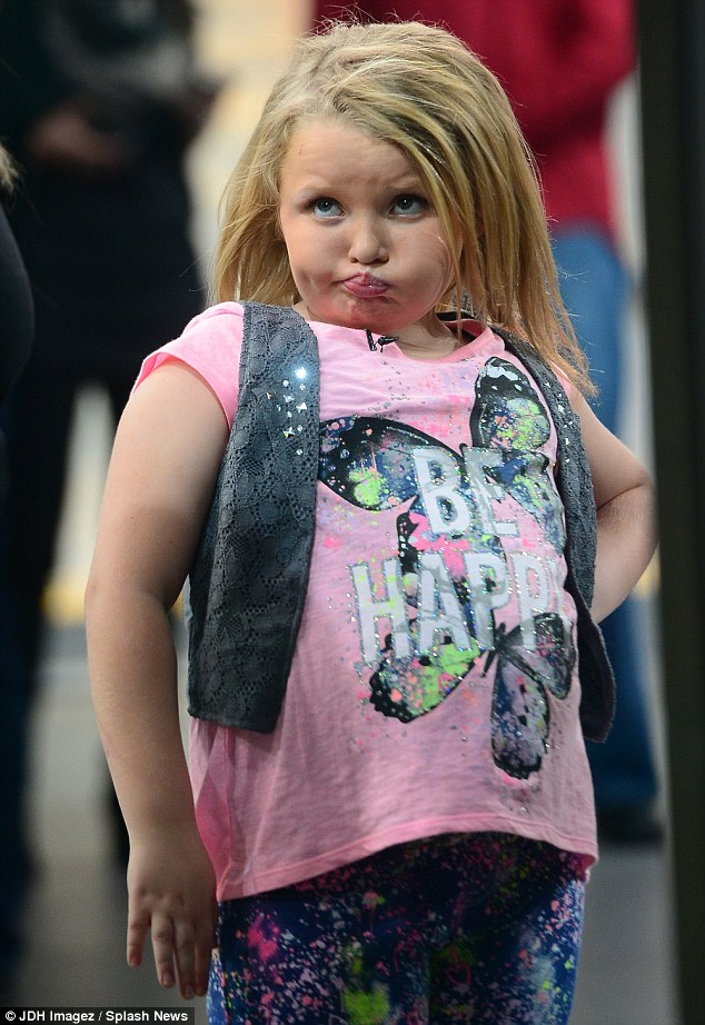 Honey Boo Boo Shows Off New Hair Extensions On Good