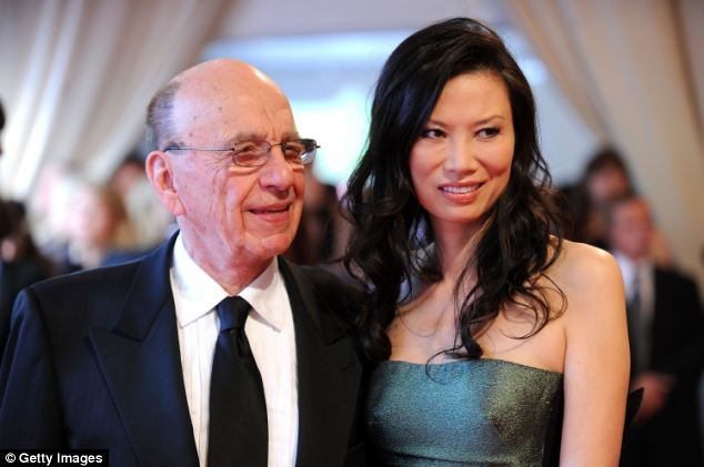 'Betrayal': Some close to Mr Murdoch have claimed he felt betrayed at the friendship between his wife and his long-term friend