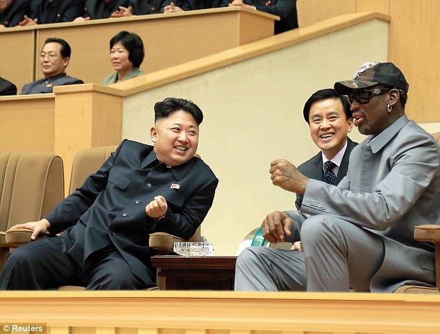 Daily Show Un Jong Rodman Dennis Kim