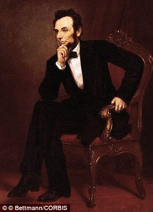 More than 60% of famous paintings, including this image of Abraham Lincoln by George Healy, have the subject posing with their left side facing the artist