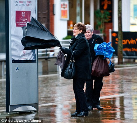 Havoc As Floods Hit New Areas 108mph Winds Cause Power