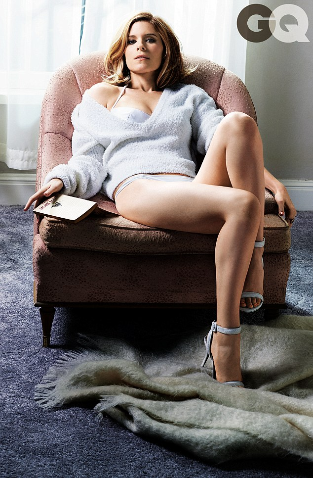 House Of Cards Kate Mara Sizzles In Her Underwear For GQ