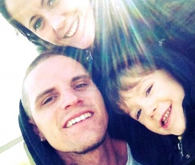 Ex Factor Courtland Rogers Pictured With Jenelle And Four Year Old Son