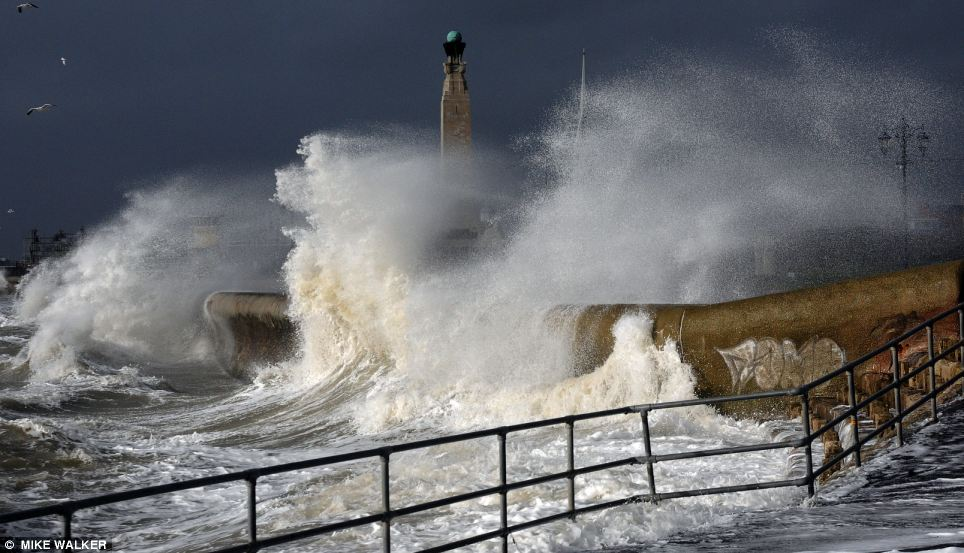 The Environment Agency and emergency services have battled to cope with worst winter storms in living memory. Coastal towns like Southsea, Hampshire, (today) have been engulfed by huge waves