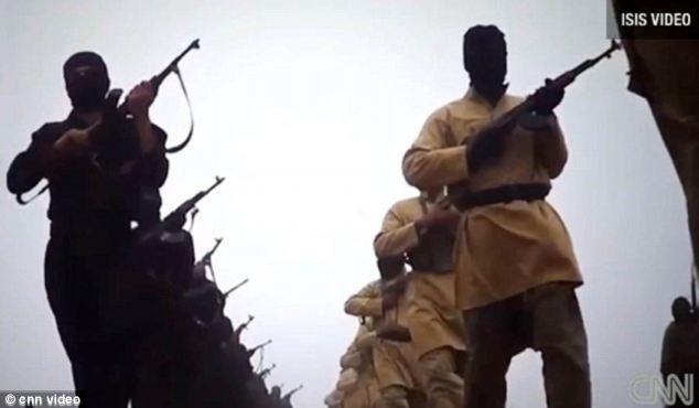 Militantes ISIS han apedreado los informes, una niña siria a muerte por tener una cuenta de Facebook (foto archivo)