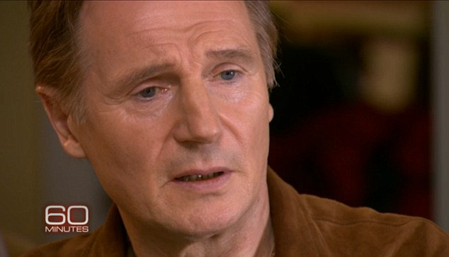 Taking comfort: Neeson is pleased that Richardson's organs have helped three people live