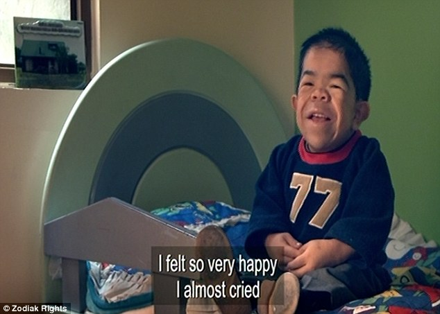 The record: When Edward was named the world's smallest man he felt so very happy he almost cried