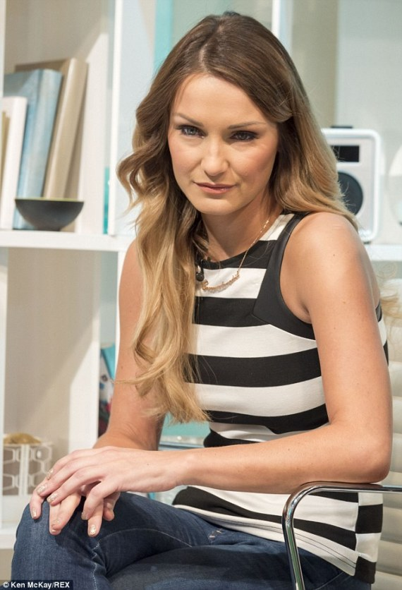 Reality TV star Sam Faiers bravely opened up about her Crohn's disease
