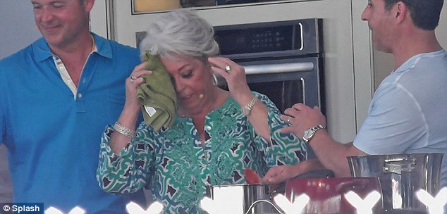 Sweaty Paula Deen Pictured Making A Comeback While Swigging From A
