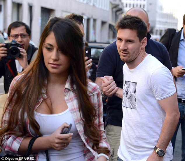 Image result for lionel messi's girlfriend
