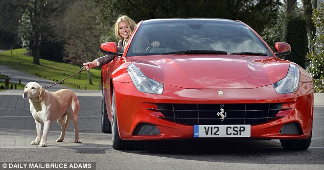 Walkies: Many supercars have no inside space, which leaves owners with options unsuited to a motorway