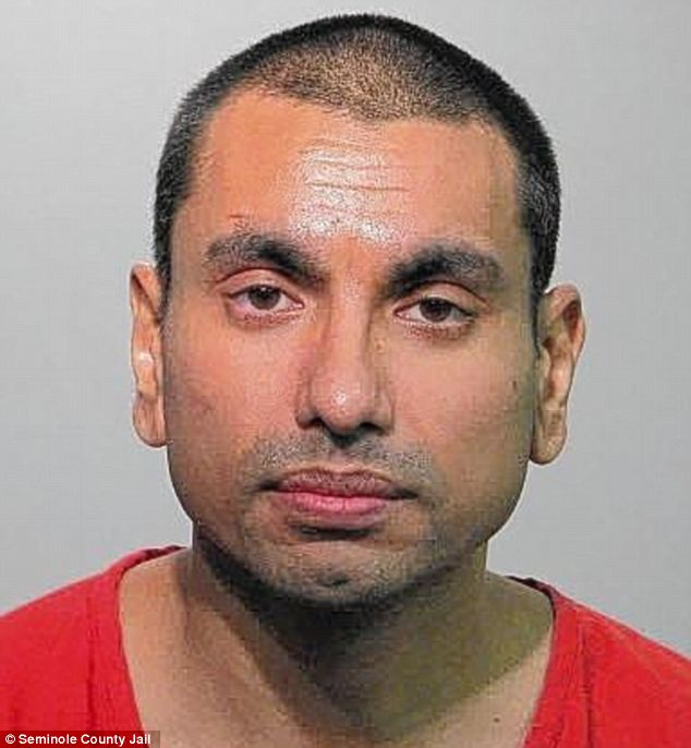 Sentenced: Shuhel Mahboob Ali has been sentenced to spend 10 years in a federal prison for his plot to create and sexually abuse an 'incest family'