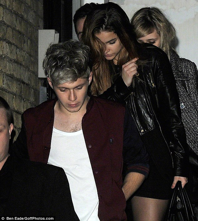 Niall Horan Reunites With Ex Barbara Palvin At London Gig