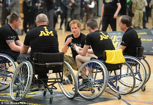 The prince has been trying to bring the event to the UK after flying to the US last year to see members of Britain's Armed Forces taking part in a similar competition, the Warrior Games