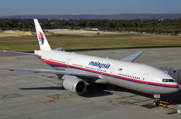 Missing: The Malaysia Airlines Boeing 777 lost contact with Air Traffic Control over the Pacific with 227 passengers aboard