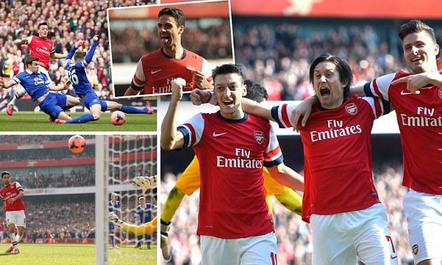 Arsenal 4-1 Chelsea