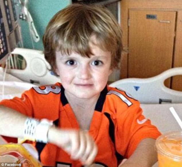 Curable: Josh is suffering from a curable virus that's preying on him because of his compromised immune system