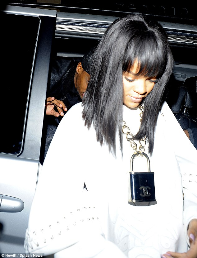Love Lockdown: Rihanna and Drake continued to fuel rumours they'd rekindled their romance as they arrived, separately, to Cirque le Soir in London Monday night