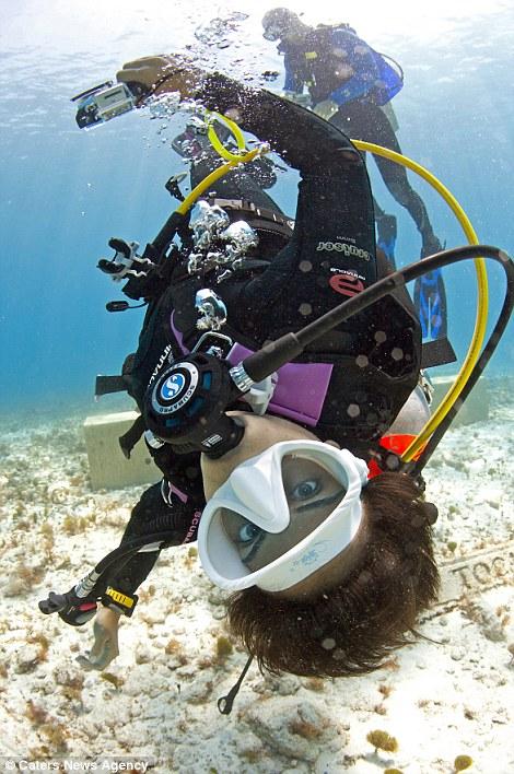 Nadia Aly traveled to Jellyfish Lake in Palau