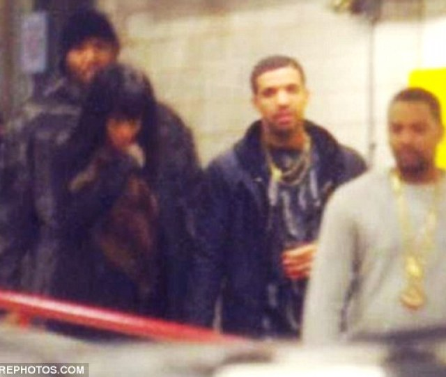 You Da One Rhianna And Drake Held Hands As They Left A Bowling Alley In