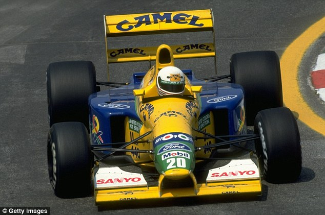 Image result for 1992 mexican grand prix brundle