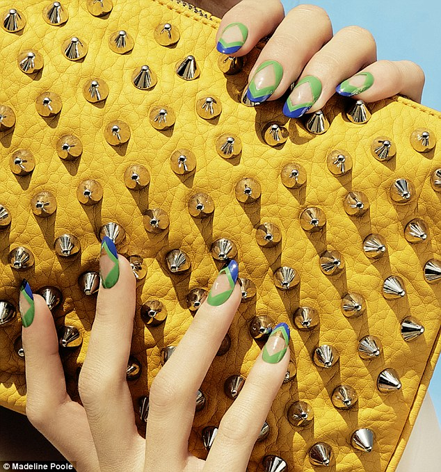 Stunning: Nail art and photography by Madeline Poole, Nailing Hollywood Productions for Steve Madden