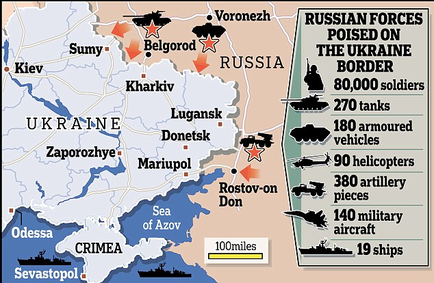 Russian military power in the troubled region