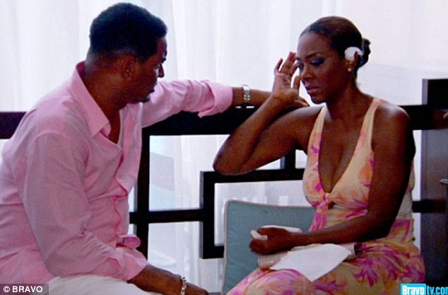 15 minutes: Walter agreed to fake the relationship for fame. While he has gone public with his confession that they weren't really together, Kenya keeps up the pretence, saying of him: 'I am embarrassed that I allowed a deceitful and hateful person in my life'