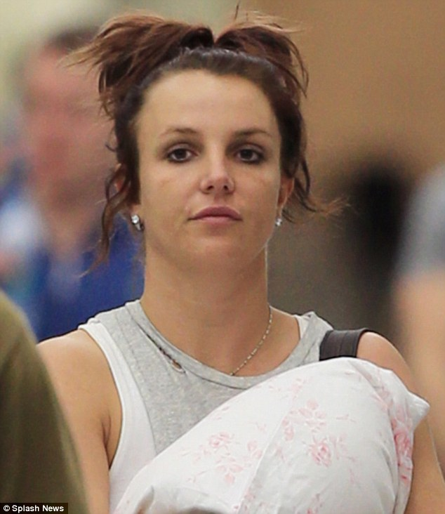 Is stress taking its toll?: Britney Spears did not look her best while leaving New Orleans on Saturday after her sister Jamie Lynn tied the knot to Jamie Watson