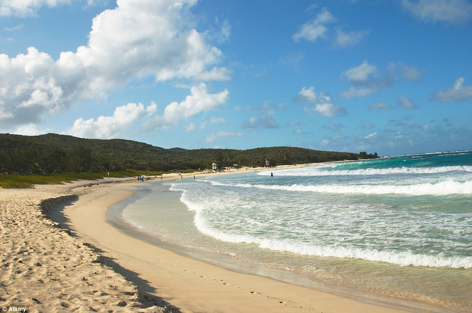 Third place: With its golden sands and turquoise waters Flamenco Beach has been highly rated by TripAdvisor
