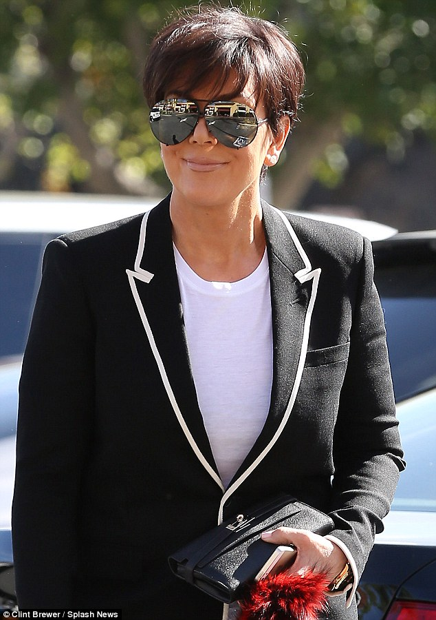 Kris Jenner Birthday Shops For Son Rob Wearing Sharon