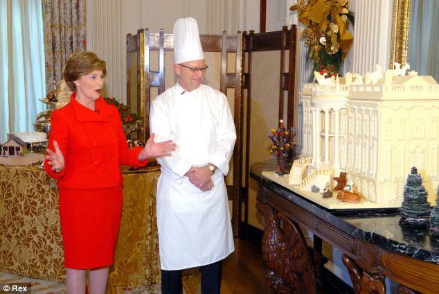 Gone are the days of full-fat, traditional desserts like those featured in the Bush White House -- including the traditional iced Christmas gingerbread house