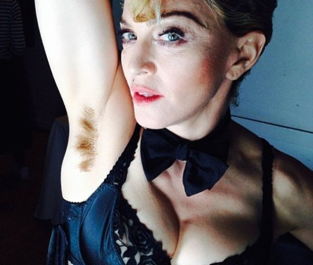 Madonna Shares Pic Of Her Hairy Armpit On Instagram