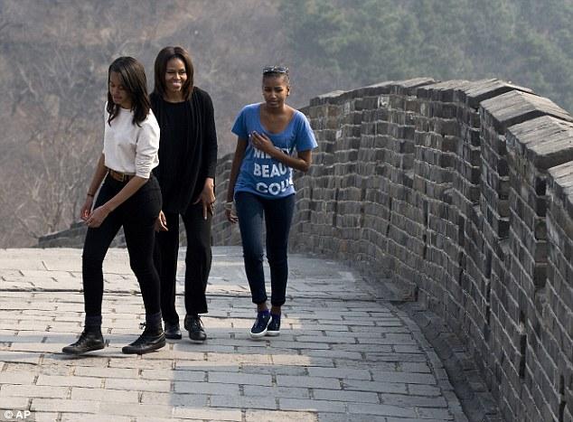 Malia Obama Follows Her Mother Into the Fashion Spotlight