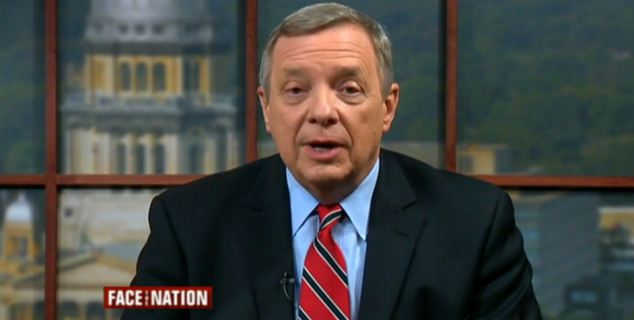 Sen. Dick Durbin, D-Ill., who just returned from Ukraine, said it was Romney who was naive