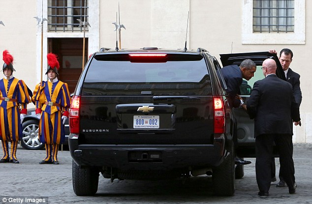 Obama Meeting Pope
