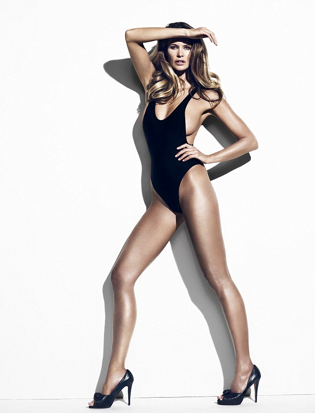 The body: Elle Macpherson is turning fifty this weekend and has unveiled her own super greens to celebrate
