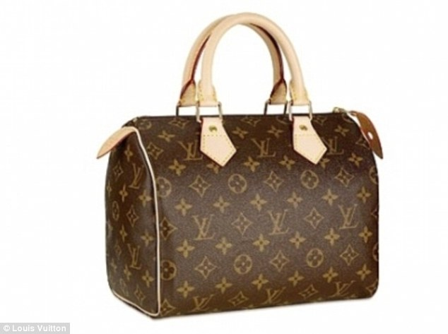 There are still some advantages to investing in a top-end designer item, such as this Louis Vuitton bag