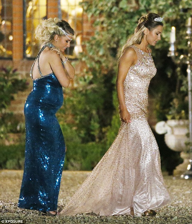 Billie Faiers Leads The TOWIE Cast At Prince And Princess