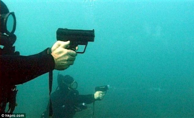 The P11 Underwater Pistol, originally designed in the 1970's
